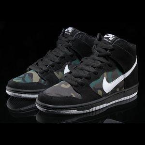 """Nike Sb Dunk High Camo """"Jay Z"""""""